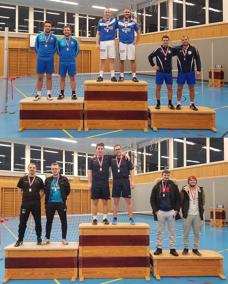 Podium coupe suisse double 17-18